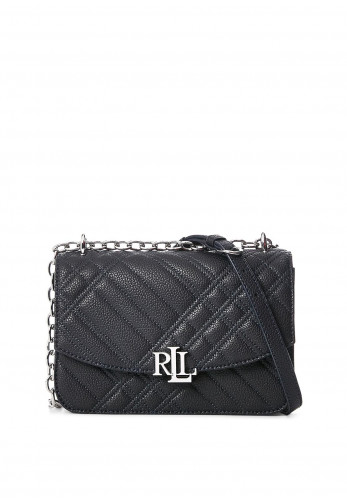 Ralph Lauren Madison Small Quilted Crossbody Bag, Navy