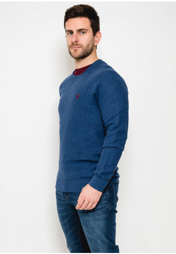 Ralph Lauren Classic Crew Neck Sweater, Navy