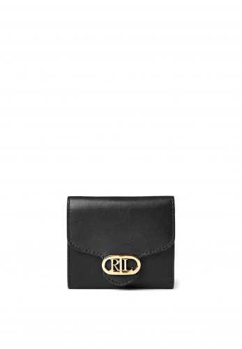 Ralph Lauren Small Billfold Wallet, Black