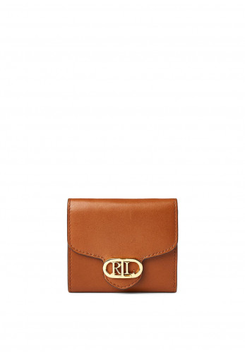 Ralph Lauren Small Billfold Wallet, Tan