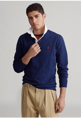 Ralph Lauren Iconic Rugby Shirt, Navy