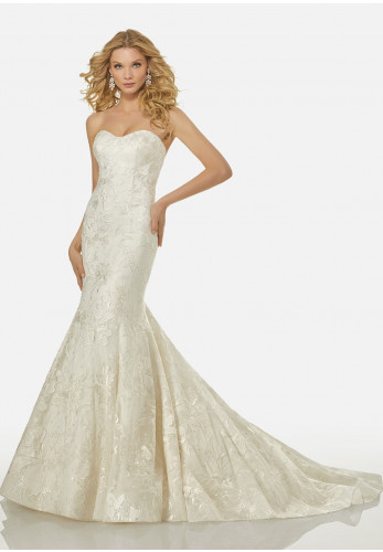 Randy Fenoli Wedding Dress 3415 Ivory, UK Size 10
