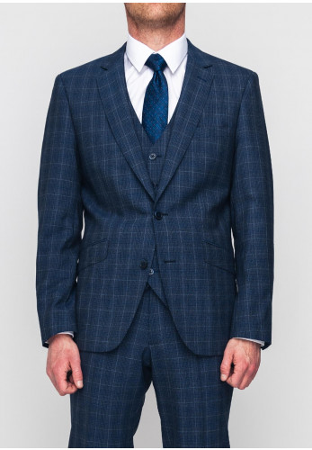 Remus Uomo Palucci Wool Mix & Match Tapered Suit Jacket, Navy
