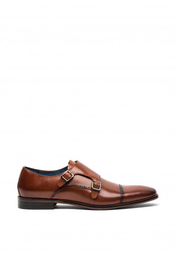 Remus Uomo Antelo Leather Shoe, Tan