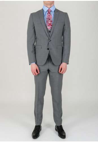 Remus Uomo Luca Mix & Match Jacket, Light Grey