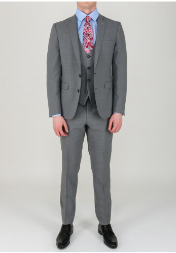 Remus Uomo Luca Mix & Match Trousers, Light Grey