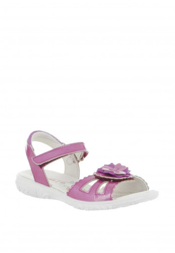 Ricosta Girls Gundi Patent Leather Sandals, Pink