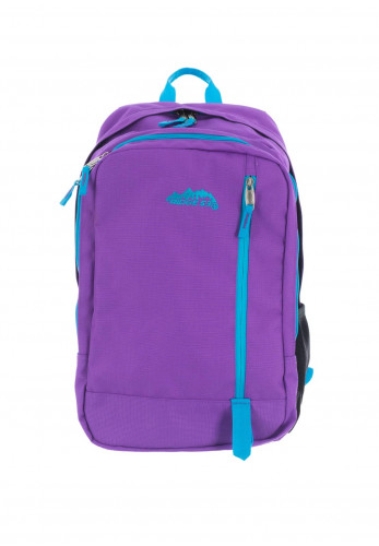 Ridge 53 Dawson Schoolbag, Purple & Blue