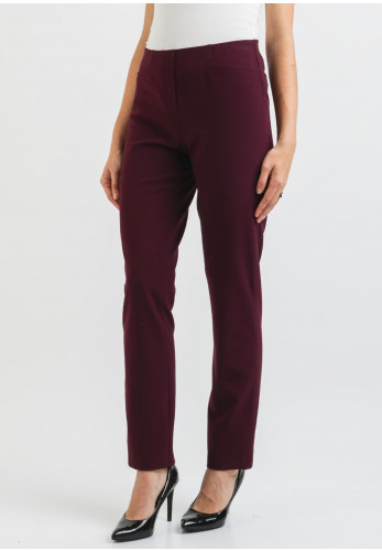 Robell Jacklyn Slim Fit Trousers, Wine