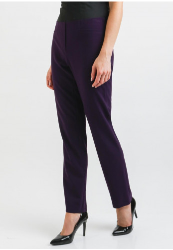 Robell Jacklyn Slim Fit Trousers, Purple