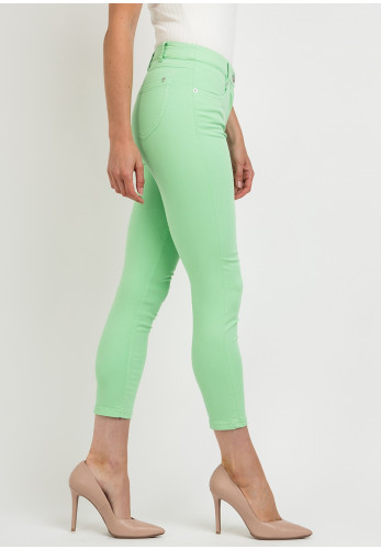 Robell Elena 09 Slim Fit Crop Jeans, Paradise Green