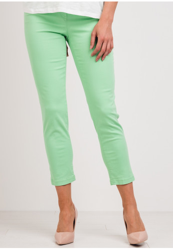 Robell Bella 09 Slim Fit Crop Jeans, Paradise Green