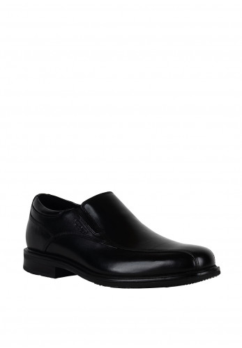 Rockport Essential Details II Bike Toe Slip on Shoe, Black