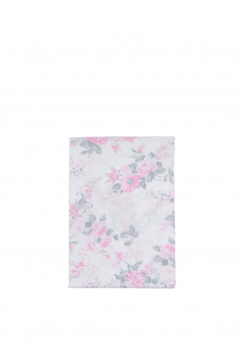 Rococo Floral Bed Sheet Set, Pink