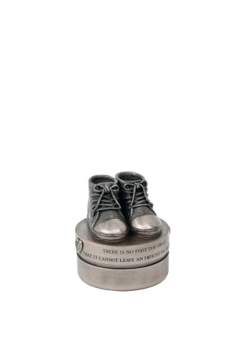 Genesis Baby Boy Booties Trinket Box