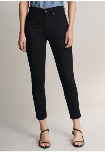 Salsa Push In Secret Glamour Capri Jeans, Black