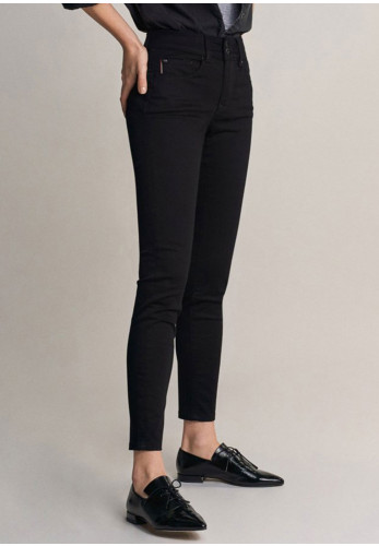 Salsa Push In Secret True Black Skinny Jeans, Black