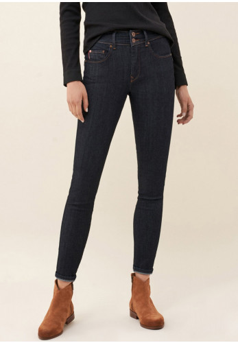 Sala Push in Secret Skinny Jeans, Dark Blue