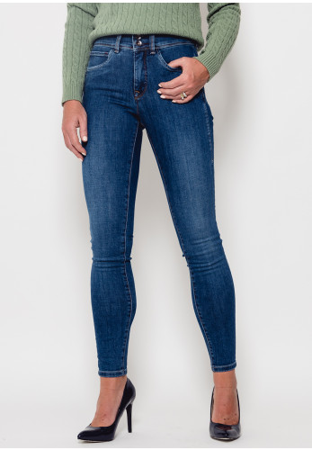 Salsa Secret Push in Skinny Jeans, Denim Blue
