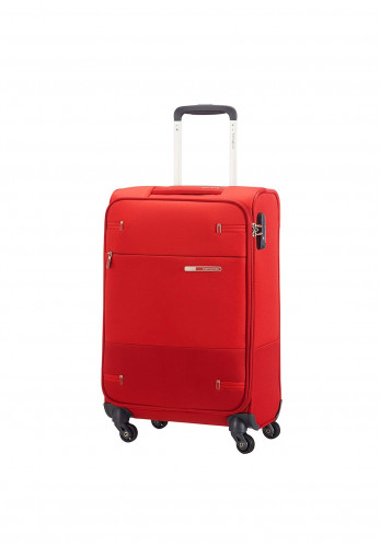 Samsonite Base Boost Super Light Spinner Cabin Size Suitcase 35cm, Red