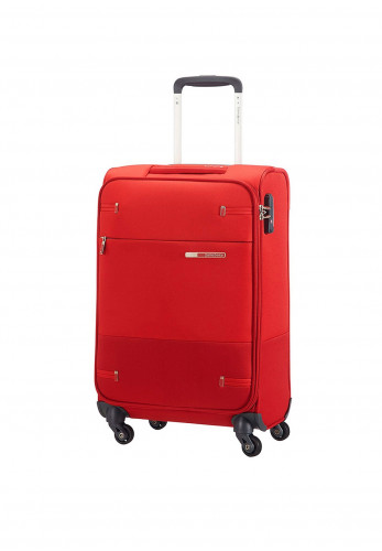 Samsonite Base Boost Super Light Spinner Suitcase 66cm, Red