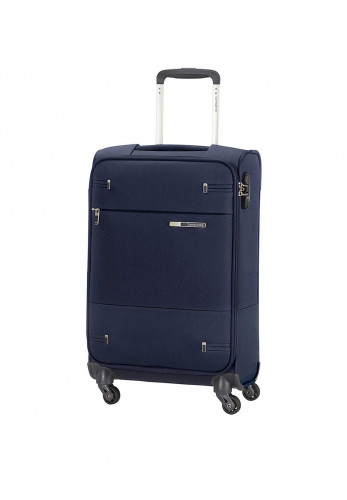 Samsonite Base Boost Super Light Spinner Suitcase 66cm, Navy Blue