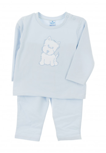 Sardon Baby Boys Dog Tracksuit, Blue