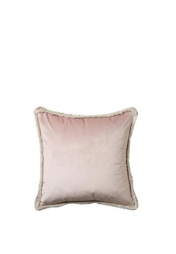 Scatter Box Milana Feather Filled Cushion, Blush/Taupe