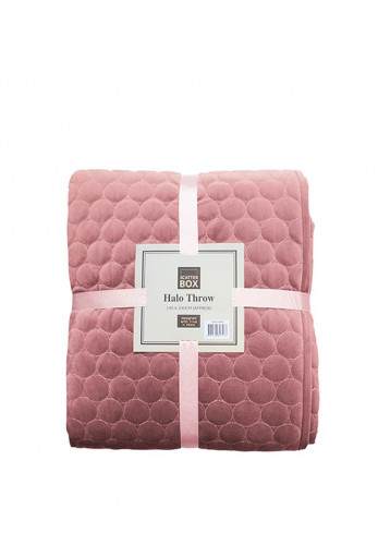 Scatter Box Halo Throw, Blush