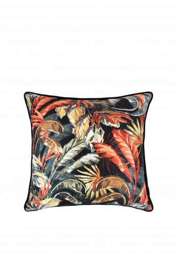 Scatter Box Paradisa 45 x 45 Cushion, Navy/Rust