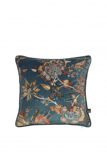 Scatter Box Protea 43 x 43 Cushion, Teal