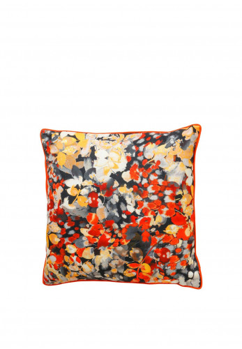Scatterbox Amber Feather Cushion, Orange
