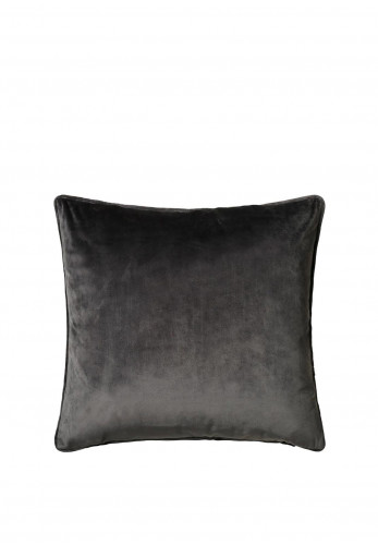 Scatterbox Bellini Velour Cushion, Charcoal
