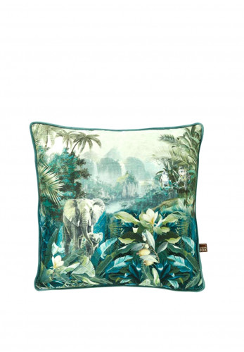 Scatterbox Luxurious Feather Filled Malawi Cushion, Green