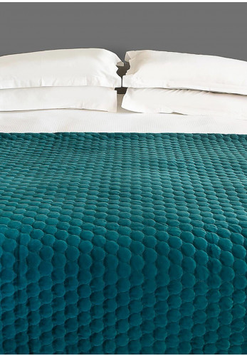 Scatterbox Halo Throw, Teal