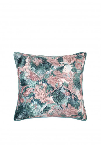 Scatterbox Miravel Rose & Teal Feather Cushion
