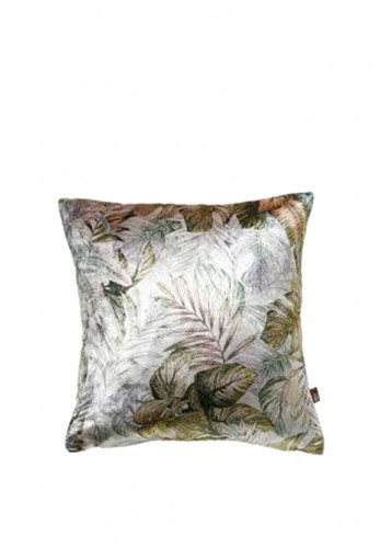 Scatterbox Luxurious Feather Filled Fern Cushion, Green/Blue