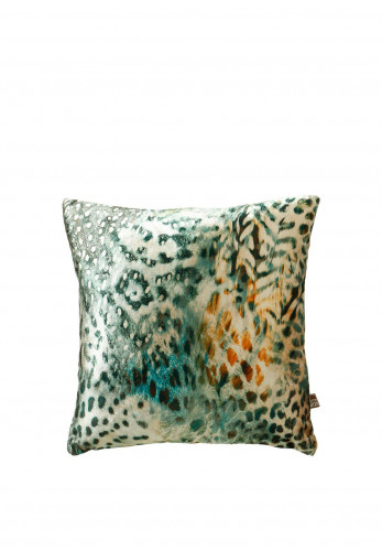 Scatterbox Tigerlily Cushion, Ochre & Green
