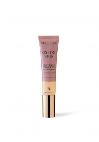 Sculpted Aimee Connolly Second Skin Dewy Finish Foundation, 4.0