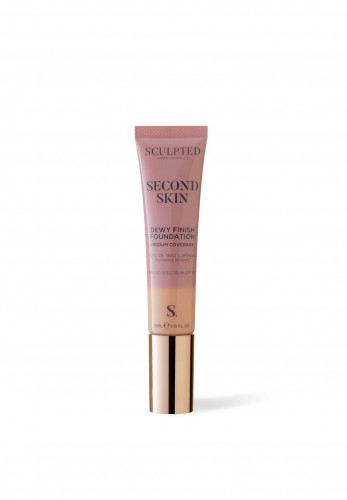 Sculpted Aimee Connolly Second Skin Dewy Finish Foundation, 5.0