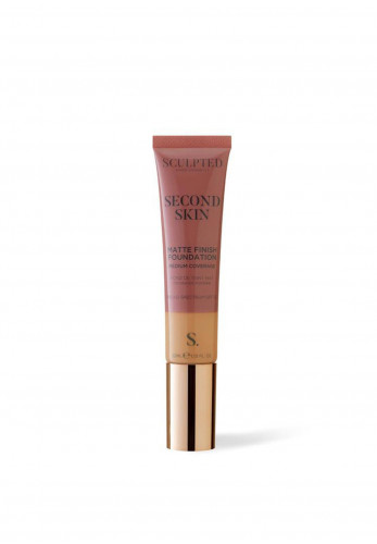 Sculpted Aimee Connolly Second Skin Matte Finish Foundation, 5.5 Tan Plus