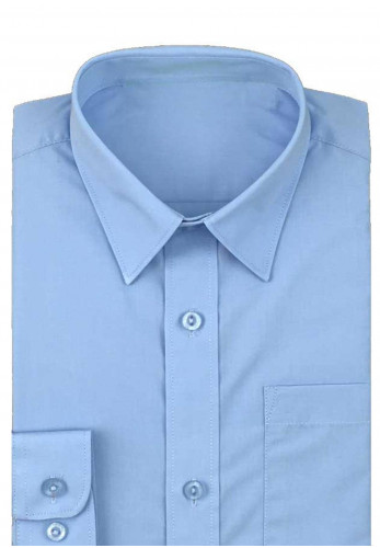 Hunter Twin Pack Long Sleeve School Shirt, Blue