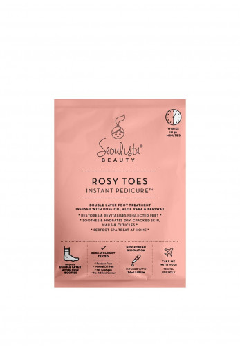 Seoulista Beauty Rosy Toes Instant Pedicure Treatment