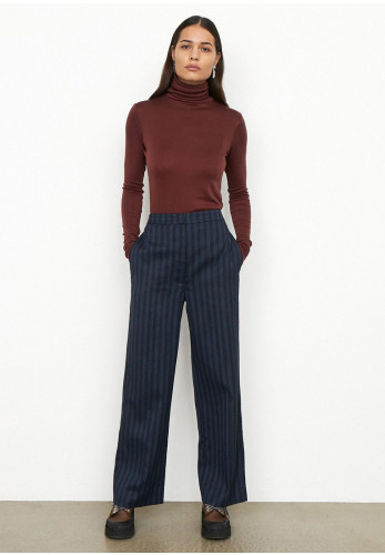 Second Female Susian Trousers, Navy Multi