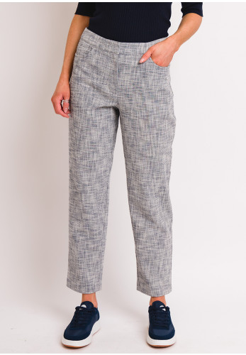 Selected Femme Falba Cropped Trousers, Grey