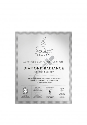 Seoulista Diamond Radiance Instant Facial Mask