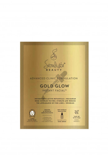 Seoulista Gold Glow Instant Facial Mask