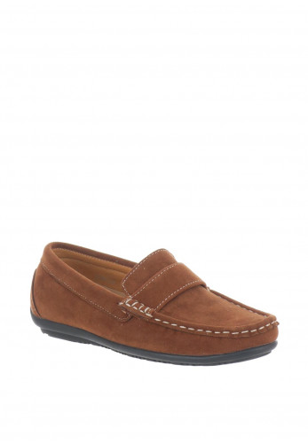 Sevva Boys Dunchan Loafers, Tan