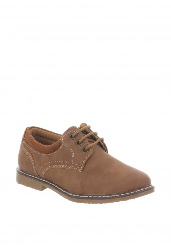 Sevva Boys Oliver Lace Up Shoes, Tan