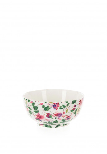 Shannonbridge Fuchsia Pudding Bowl, Green & Pink